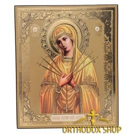"""Икона Божией Матери """"Семистрельная"""". Освященная"""